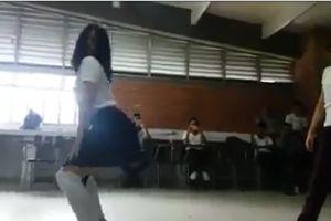 Video: El sensual baile de estudiantes frente a sus profesores que genera indignación