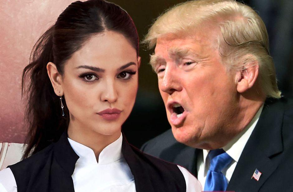 Eiza González estalla contra Trump tras sismo en México