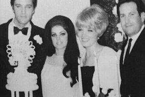 ¡La tía de Kim Kardashian fue la dama de honor en la boda de Elvis Presley!