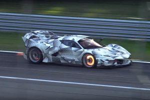 Música para tus oídos: Ferrari FXX K Evoluzione en Monza (video)