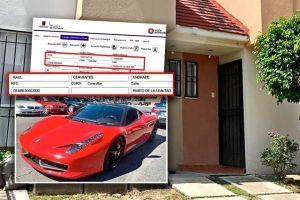 """Procurador mexicano registra Ferrari con domicilio """"fantasma"""" para evadir impuestos"""