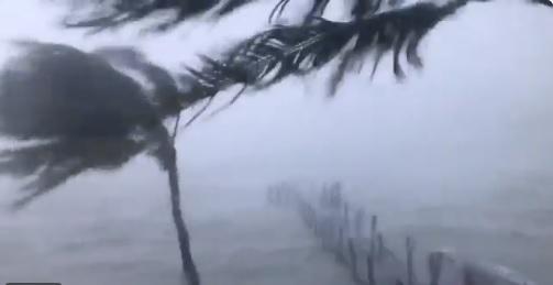 Sigue la tensión en el Caribe por el fenómeno meteorológico