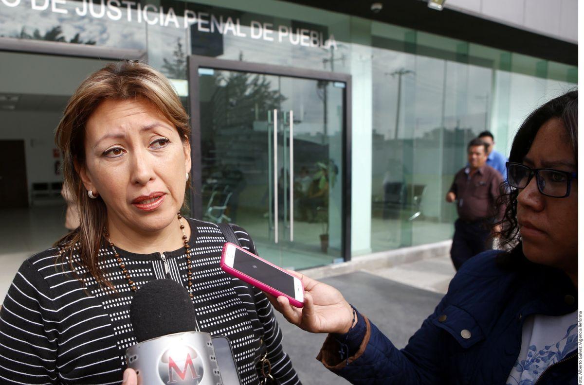 Gabriela Miranda exige indagar por el asesinato de su hija Mara en Puebla. Agencia Reforma