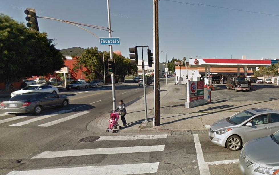 La gasolinera que fue sitio del suceso.