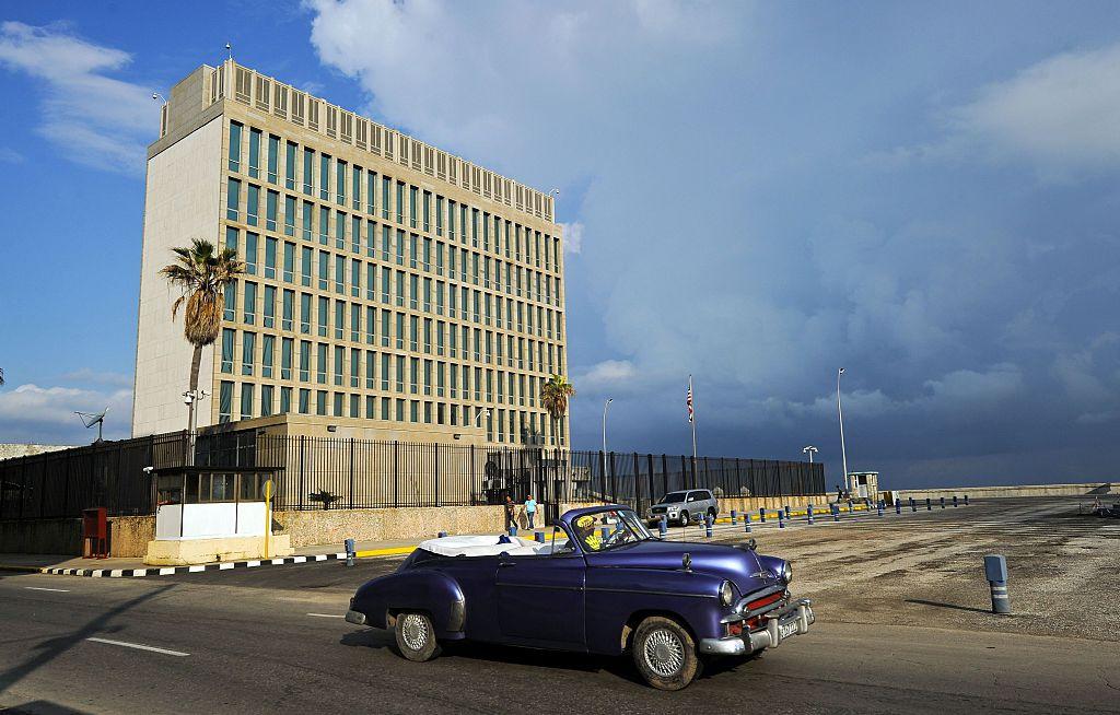 La embajada de EE.UU. en La Habana reabrió en agosto de 2015.