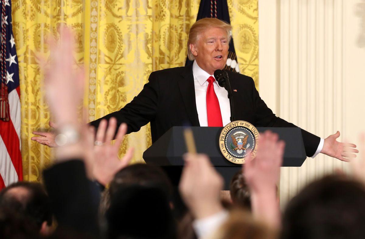 """Trump no prevé exigir fondos para el muro en la ley para jóvenes """"soñadores"""""""