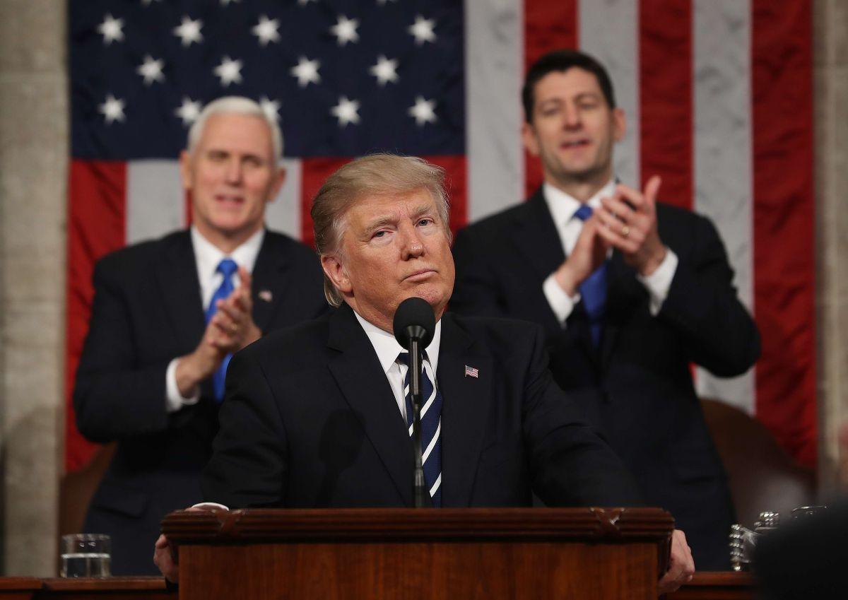 """Cinco claves sobre el primer discurso de Trump del """"Estado de la Unión"""""""