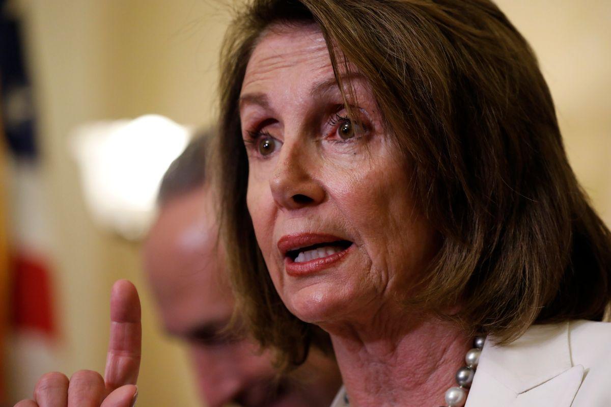 """Nancy Pelosi confía en que Trump cumpla su palabra sobre """"Dreamers""""."""