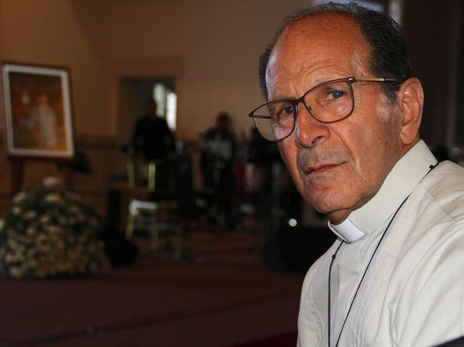 Alejandro Solalinde durante un evento organizado por la CNDH.