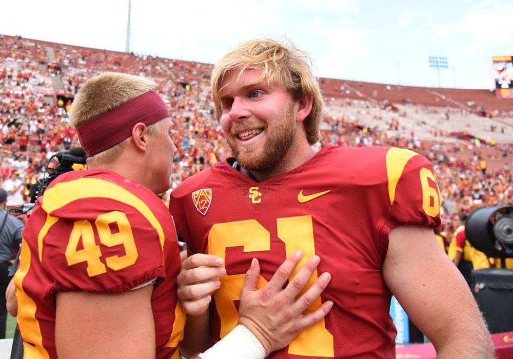 Jugador ciego debuta con los Trojans de la USC (VIDEO)