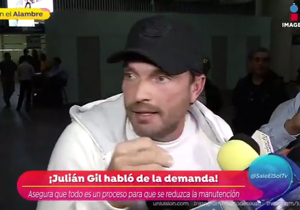 Julián Gil estalló contra Marjorie de Sousa.