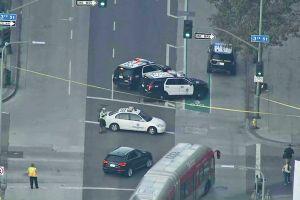 Hombre recibe disparo de agente de la CHP en el centro de Los Ángeles