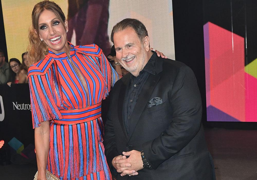 Lili Estefan y Raúl de Molina.
