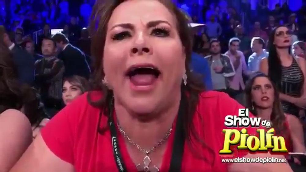 La Sra. Barragán terminó muy molesta.