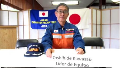 """""""En la adversidad, cuates de verdad"""", así se despiden rescatistas japoneses de los mexicanos"""