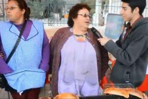 """Video: Entrevista se ve interrumpida por astuto """"ladrón"""""""