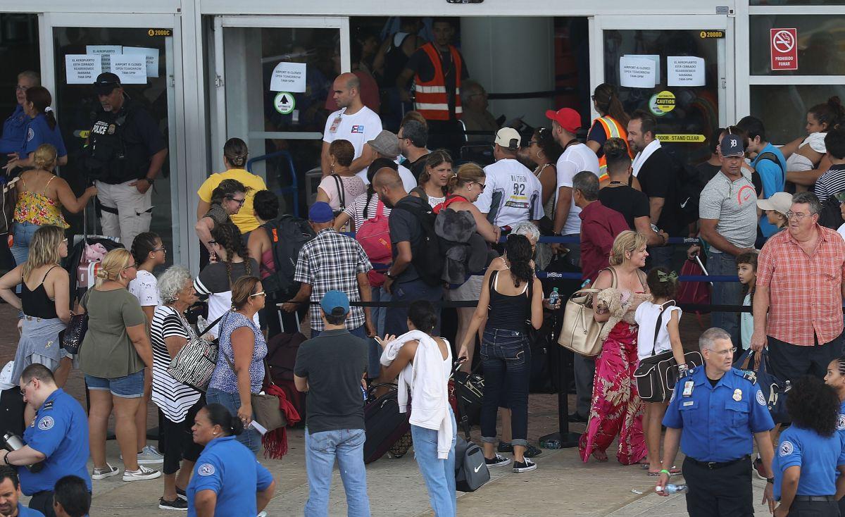 El huracán María dejó a muchos en Puerto Rico sin hogar.