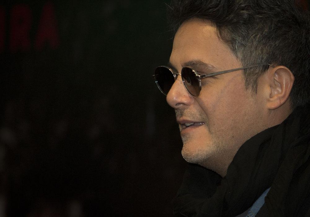 Alejandro Sanz, cantautor español.