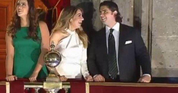 VIDEO: Sofía Castro y el hijo de Peña Nieto se ponen cariñosos