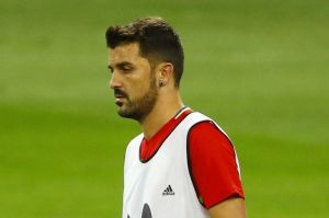 David Villa es baja para España por lesión y no jugará ante Liechtenstein