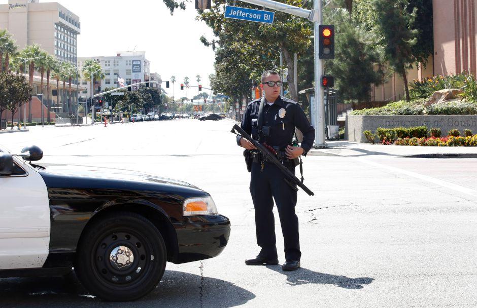 Falsa alarma: no hubo disparos en la Universidad del Sur de California