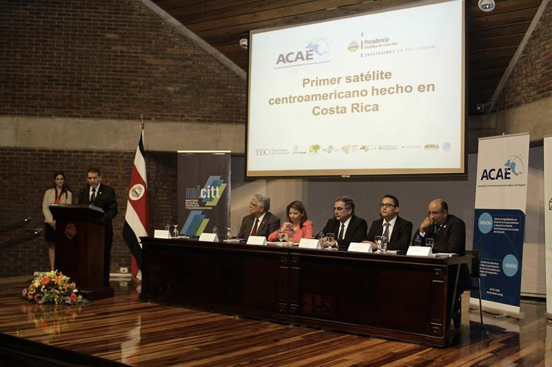 Pondrán a prueba el primer satélite hecho en Centroamérica