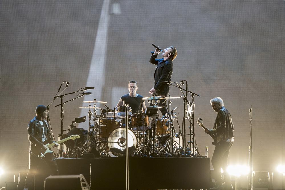 Bono, vocalista de la banda irlandesa de U2, le dedicó unas palabras a Lionel Messi