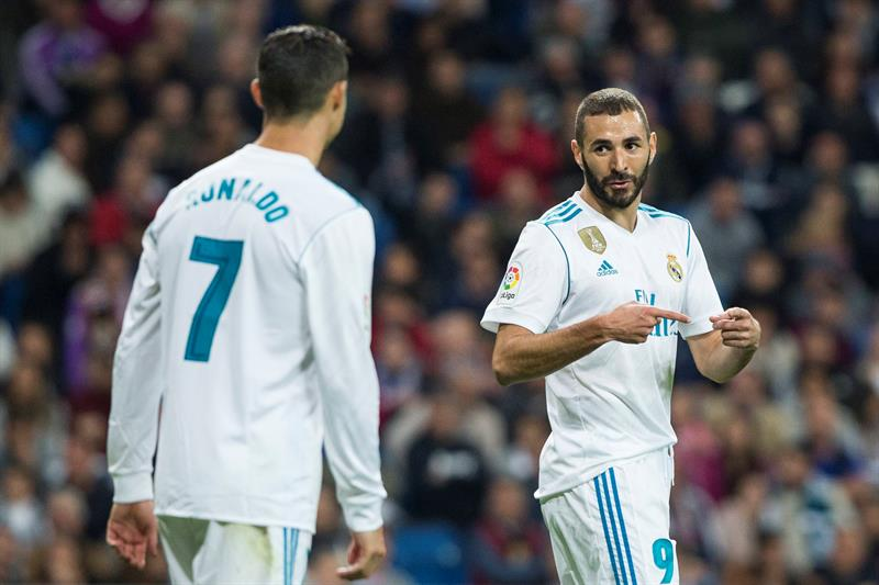 Con un Cristiano opaco, el Real Madrid y Benzemá se imponen al Eibar