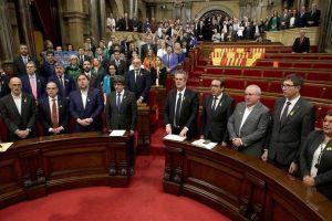 Parlamento de Cataluña declara independencia de España