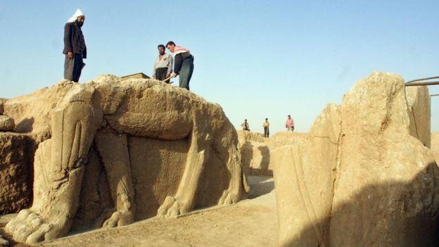 Los tesoros arqueológicos que Estado Islámico no logró destruir en Irak y que paradójicamente ayudó a encontrar