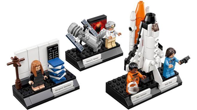 ¿Quiénes son las cuatro mujeres científicas a las que Lego rinde homenaje?