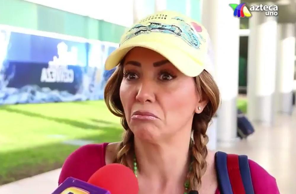 Video: Andrea Legarreta estalla contra reportera de 'Ventaneando'