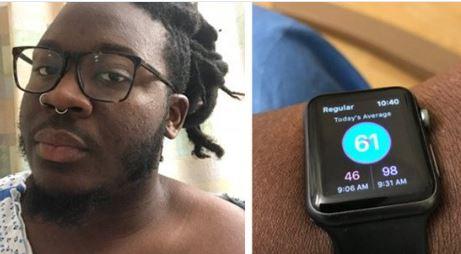 Salvó su vida gracias a un Apple Watch