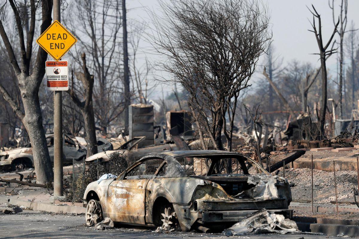 Incedios del norte de California dejan pérdidas por más de $1,000 millones