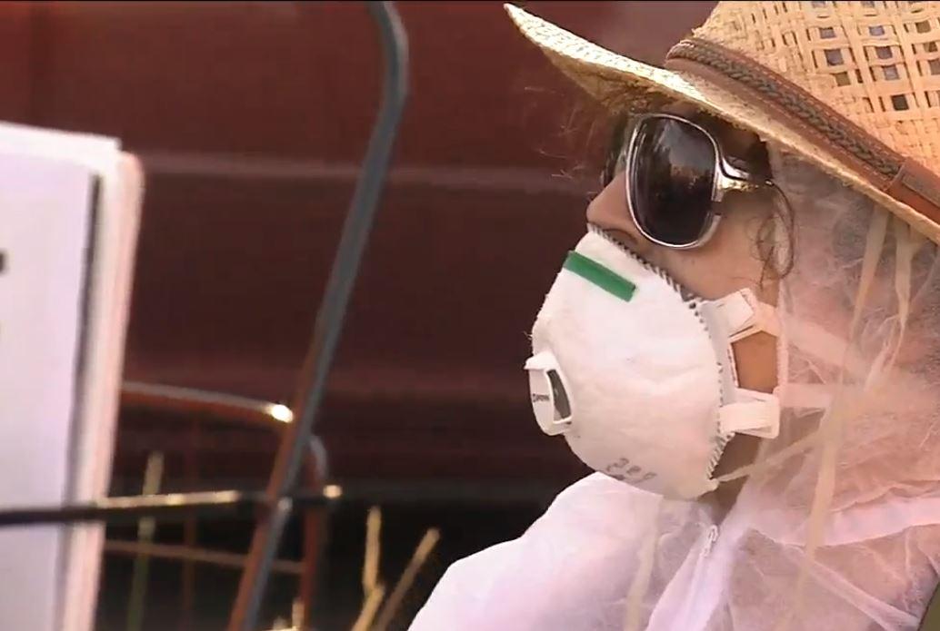 Detenidos 18 manifestantes y un camionero en protesta por el cierre definitivo de Aliso Canyon