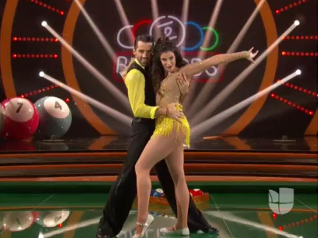 Toni Costa y Dayanara Torres.