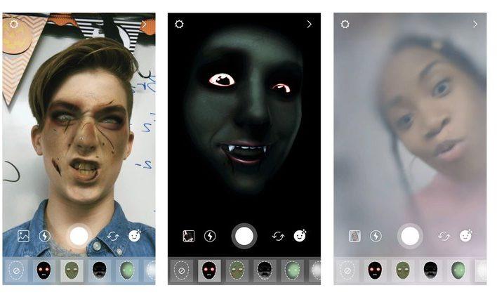 Instagram lanza nuevos filtros para Halloween