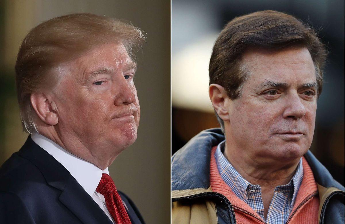 Fox News: Trump evalúa indultar a su exjefe de campaña Paul Manafort