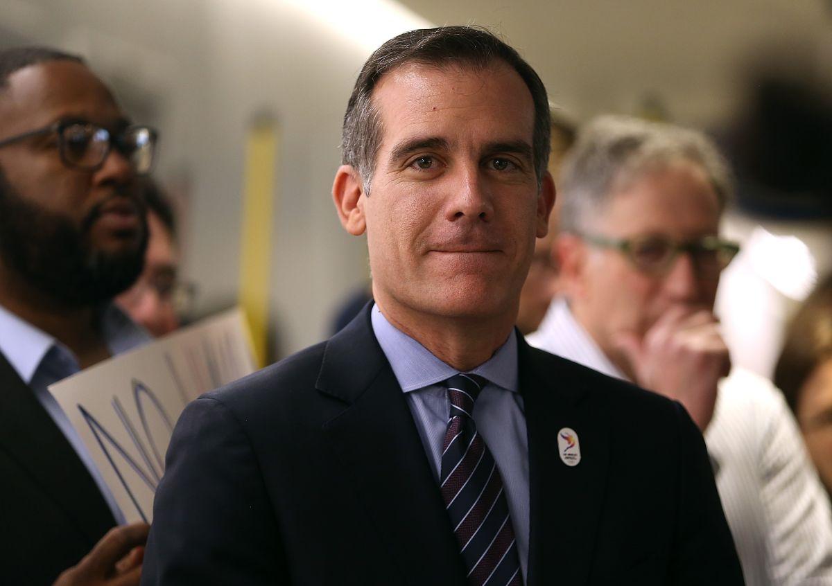 Alcalde Eric Garcetti no se postulará como gobernador de California