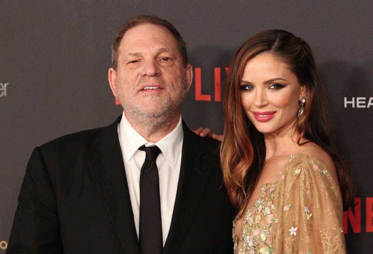Georgina Chapman deja a su esposo Harvey Weinstein tras escándalos