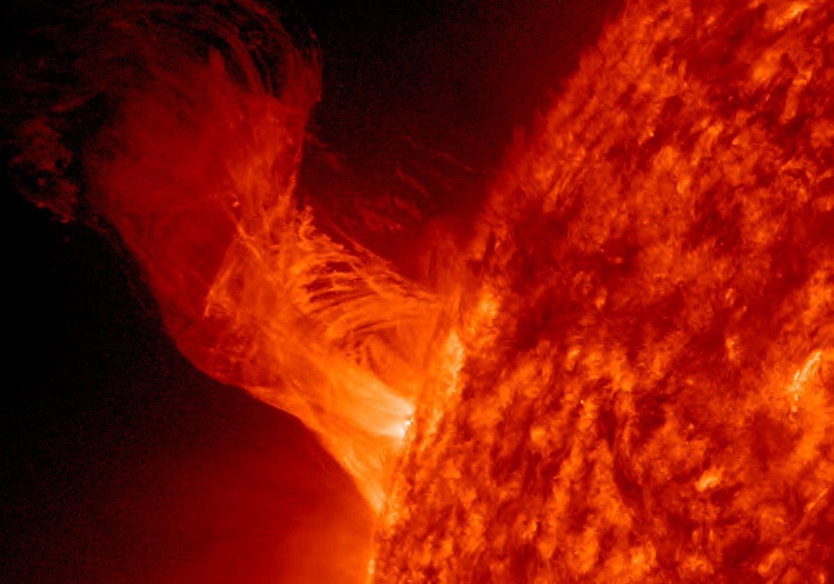 Vientos solares golpearán fuertemente al planeta.