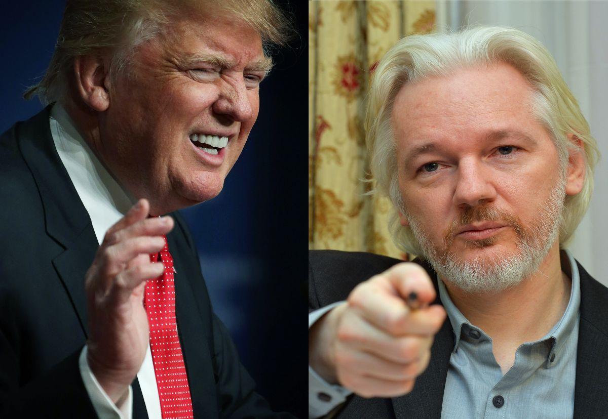 """Wikileaks confirma que campaña de Trump los contactó para """"hackear"""" los correos de Clinton"""