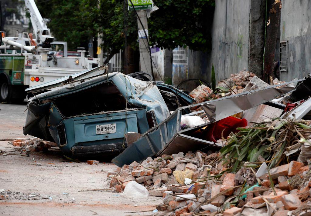 El año pasado, un terremoto dejó más de 360 muertos en México.