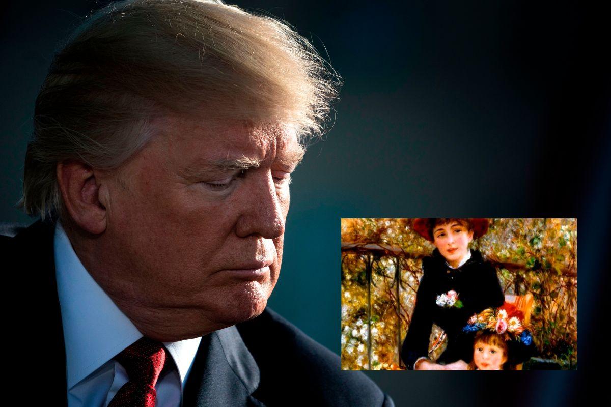 La bochornosa mentira de Trump sobre falsa obra de arte lo hace quedar en ridículo