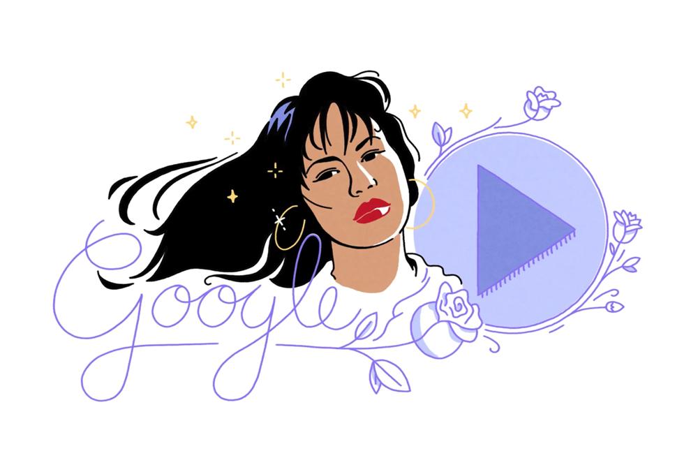 Video: Google celebra a Selena Quintanilla con 'doodle'