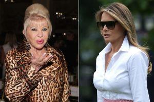 Ivana Trump asegura que Melania no tiene dignidad y que es una prisionera en la Casa Blanca