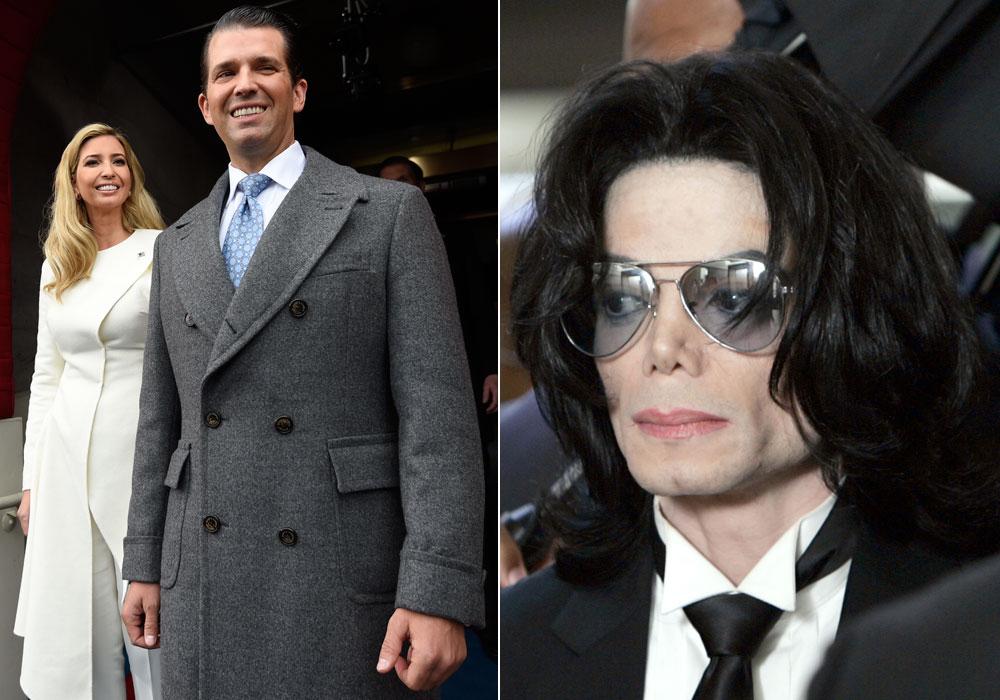 Trump dejaba a sus hijos largas horas a solas con Michael Jackson