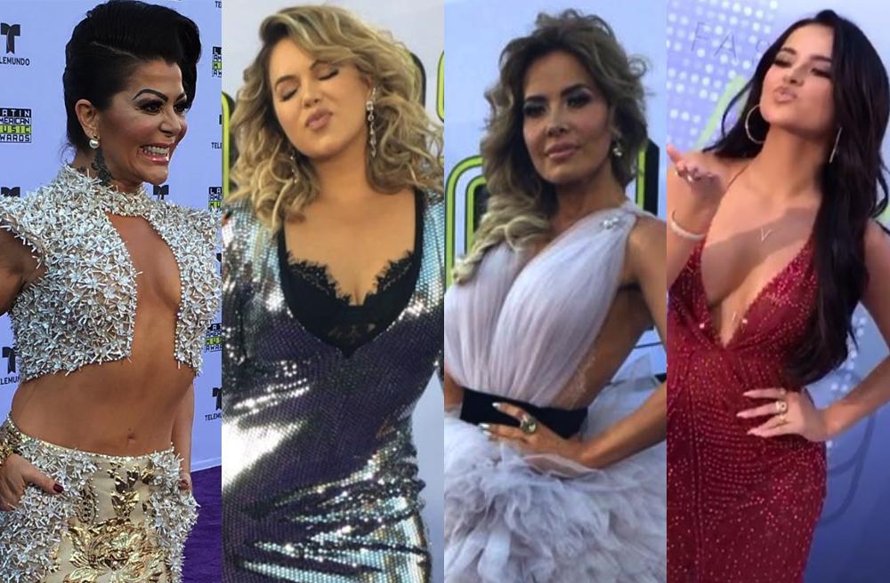 Las fotos de la alfombra roja de los Latin AMAs 2017