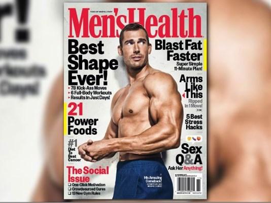 A los 13 años era adicto a la metanfetamina, ahora es portada de la revista Men's Health