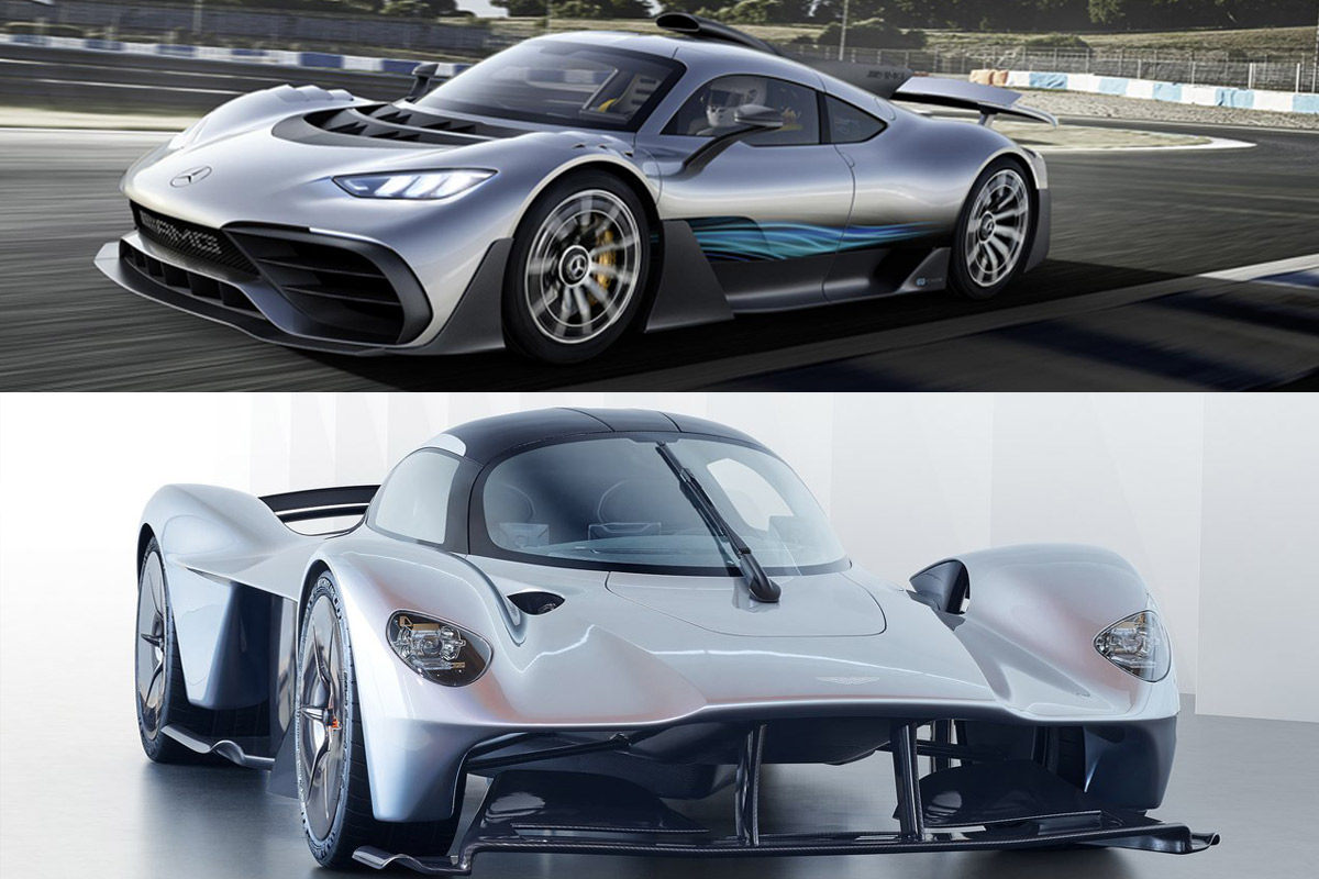 ¿Project One o Aston Martin Valkyrie?